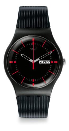 reloj gaet negro swatch