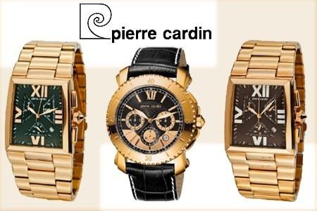Reloj Gala Pierre Cardin Diamante Dorado Original Ganga