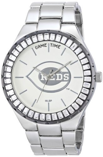 reloj game time mlb-win-cin  winner  cincinnati reds p/mujer