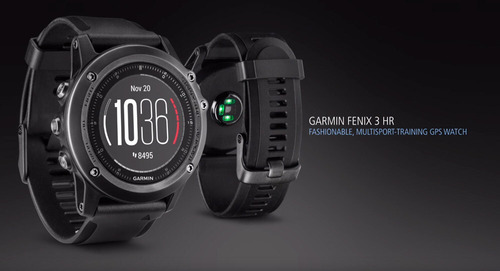 reloj garmin fenix 3 h-r hr gps - ultima version