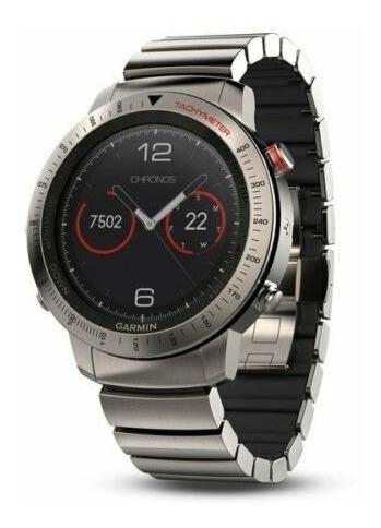 reloj garmin fenix chronos banda titanio nuevo