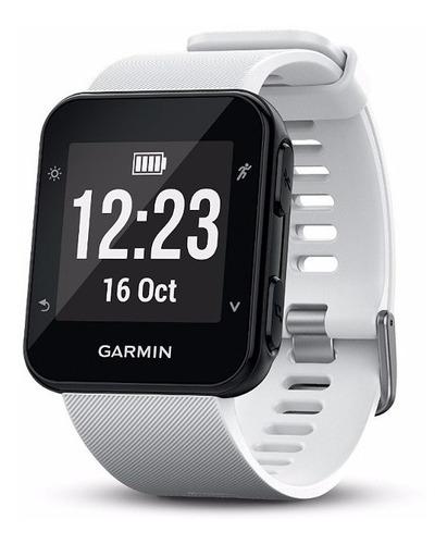 reloj garmin forerunner® 35 white gps monitor cardíaco