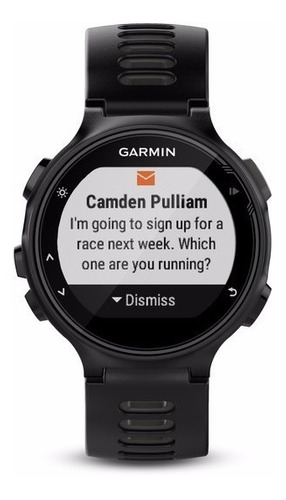 reloj garmin forerunner® 735xt black run-bundle cardíaco gps