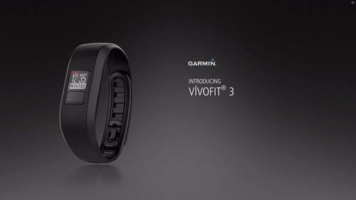 reloj garmin vívofit® 3