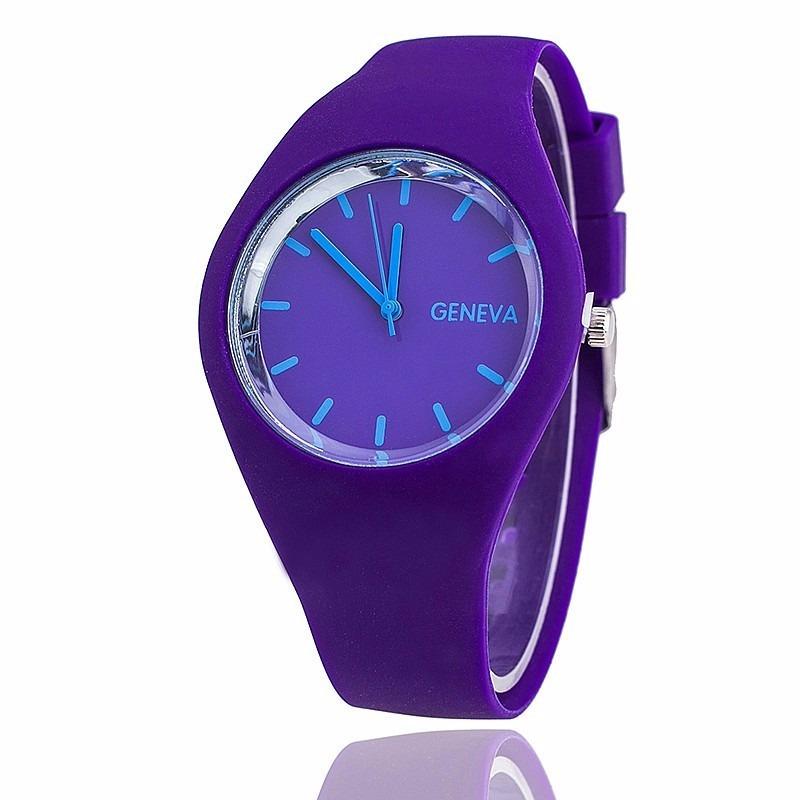 ee3a6f92a3cc Reloj Geneva Deportivo Color Morado Unisex Oferta -   3.390 en ...