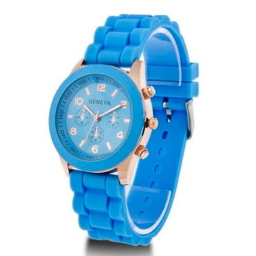 reloj geneva modelo hkwatch colores pulsera originales damas