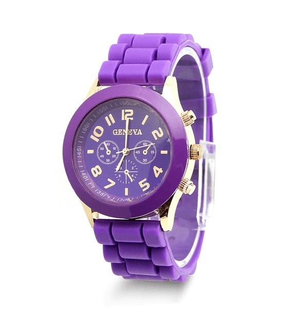 d7d4408521ed Reloj Geneva Morado - S  20