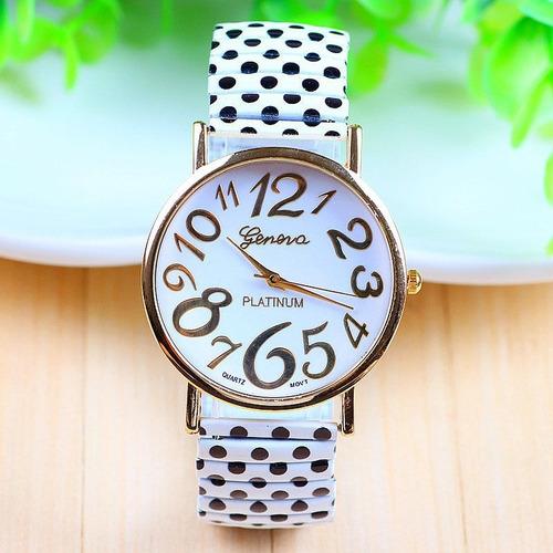 reloj geneva platinium  + caja de regalo tienda virtual fvs