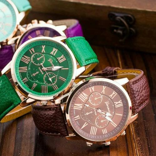 reloj geneva romano original