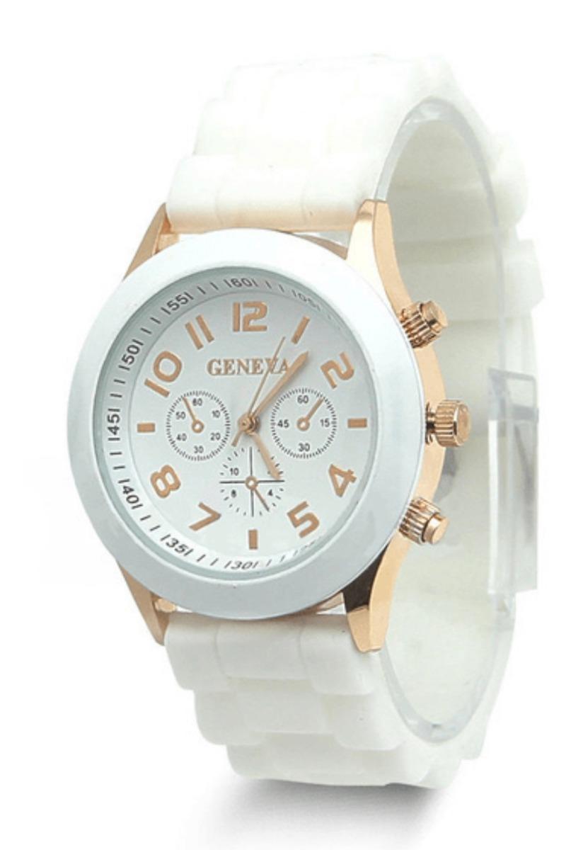 b573f09894e4 Reloj Geneva Silicon De Alta Calidad Caja De Acero. -   239.00 en ...