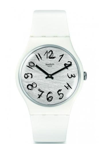 reloj gesso blanco swatch