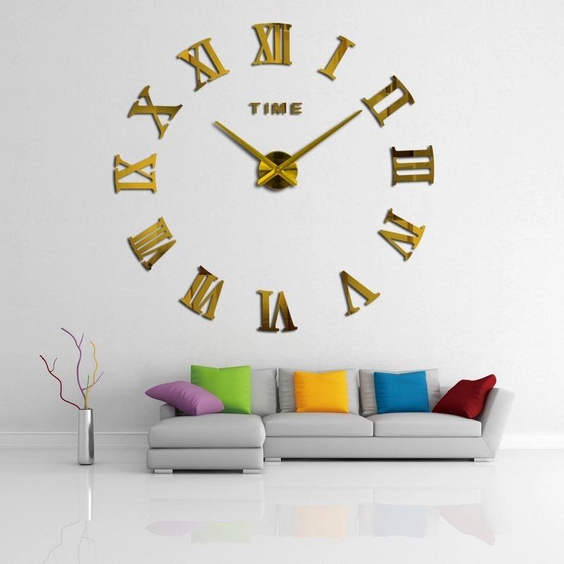 ef915aacc0fb Reloj Gigante De Pared. Color Dorado. No Se Los Pirda!!! -   1.399 ...