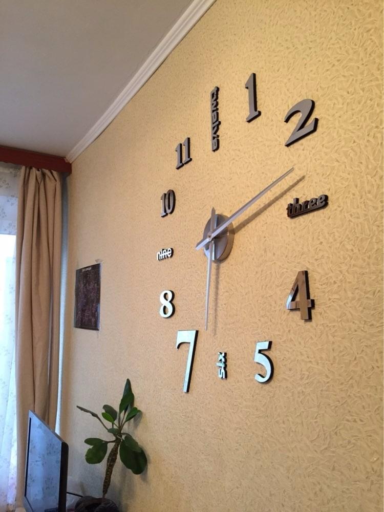 92ec53c8e1a1 Reloj Gigante De Pared - Plateado -   84.000 en Mercado Libre