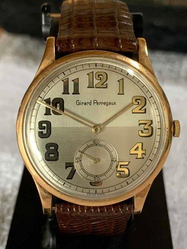 reloj girard perregaux oro 18k , unico !