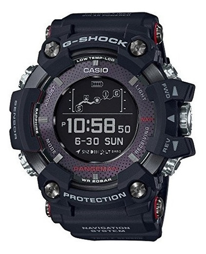 reloj gprb1000 g-shock rangeman de casio para hombre