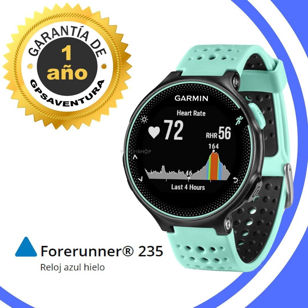 175d3533a9ca Reloj Gps Garmin Forerunner 235 Azul Hielo - Gpsaventura