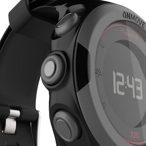 reloj gps para atletismo onmove 220 negro rojo 8374051