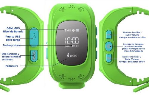 reloj gps para niños- superclick envios gratis a todo chile