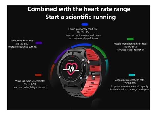 reloj gps smart watch ilepo oled sumergible bt bw286