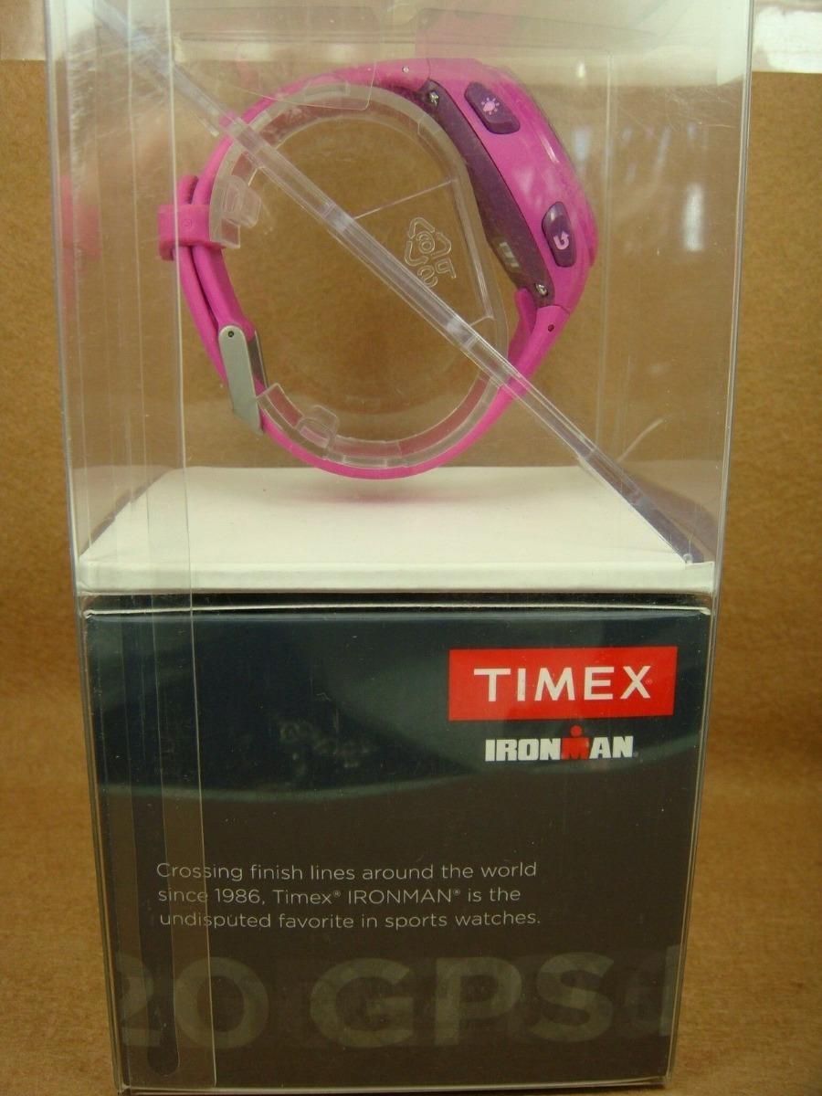 3f2823710b06 reloj gps timex ironman rosa triatlon. Cargando zoom.