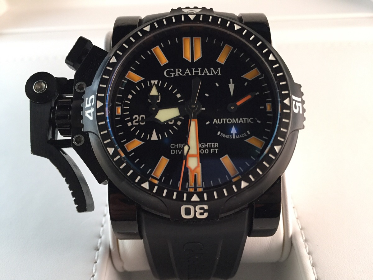 35a2480b30a9 reloj graham chronofighter oversized diver deep seal. Cargando zoom.