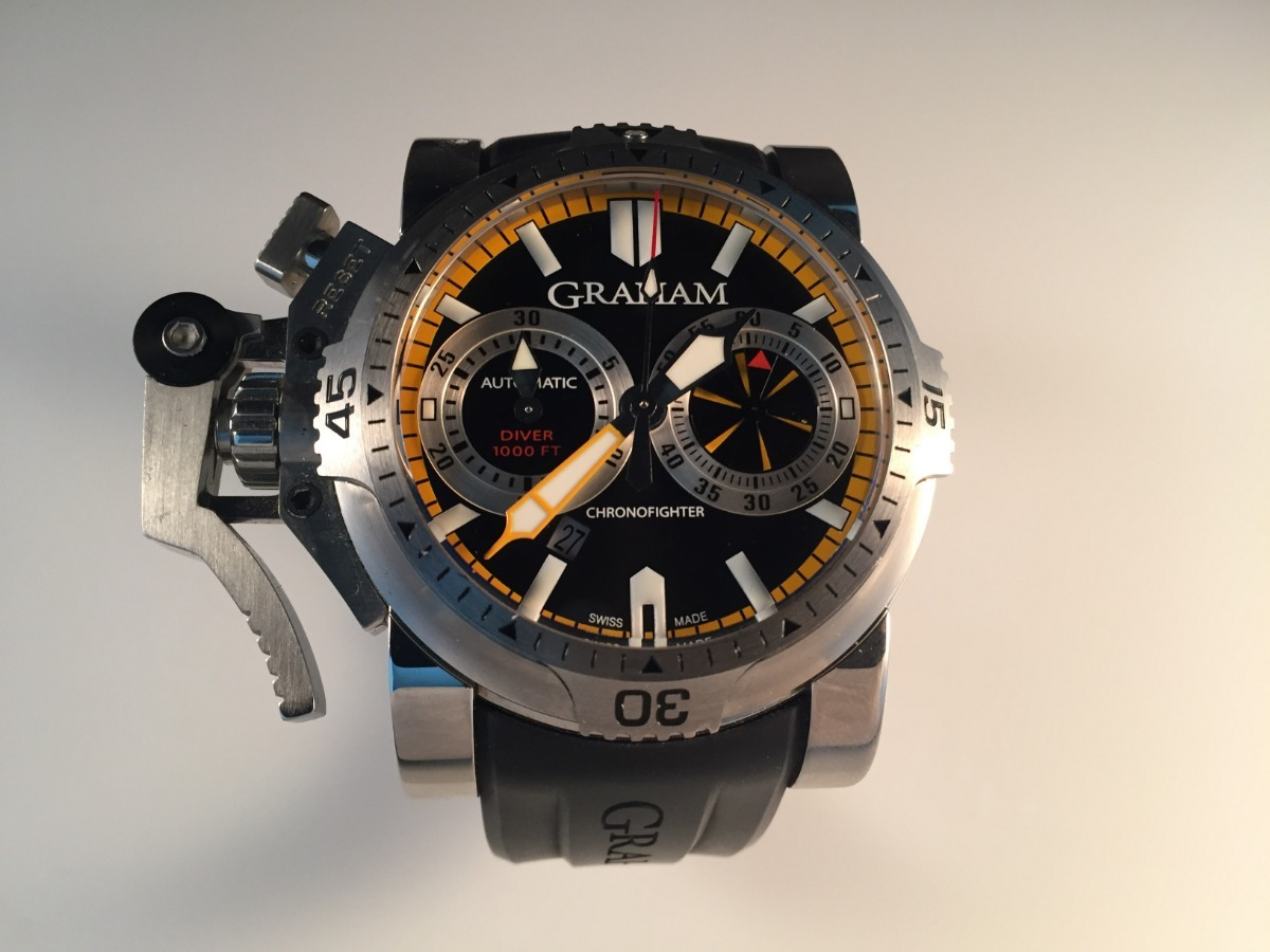 95f95e2088b0 reloj graham chronofighter oversized turbo diver. Cargando zoom.