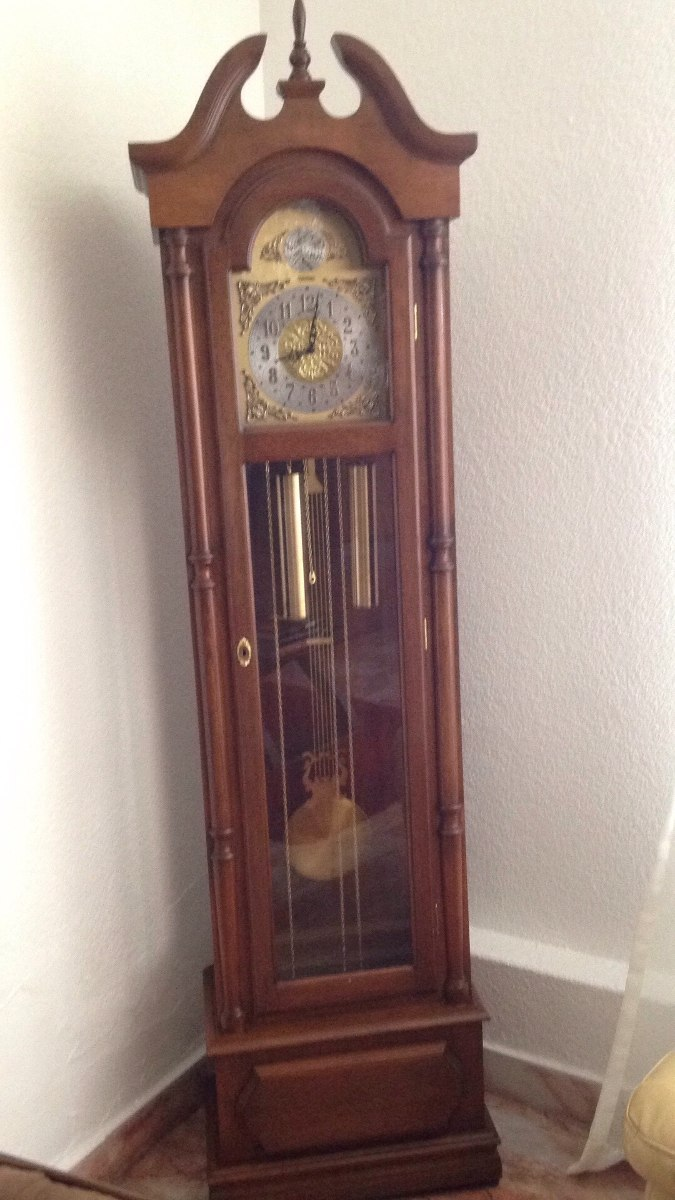 Reloj Grand Father Marca Besser Modelo Tempus Fugit