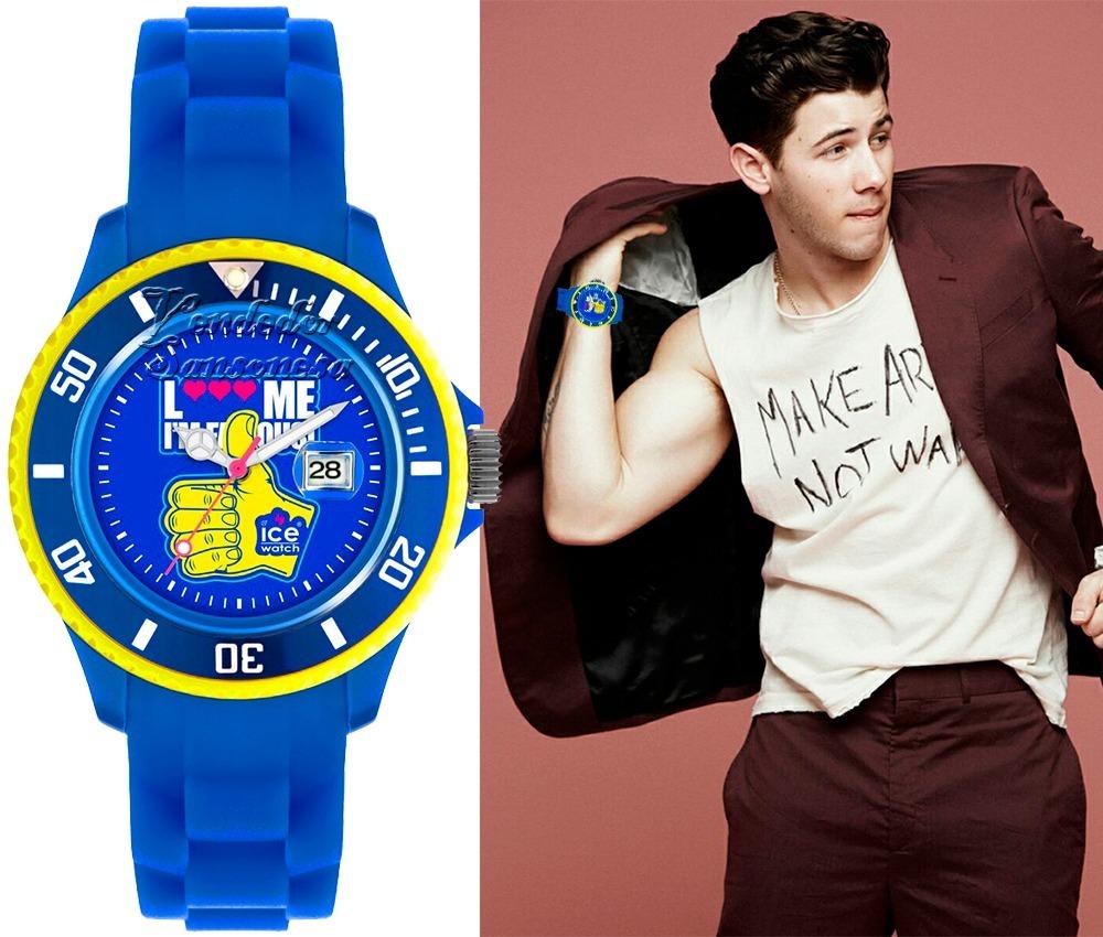 reloj grande ice watch i´m famous azul original + caja lego. Cargando zoom. 00130625f610