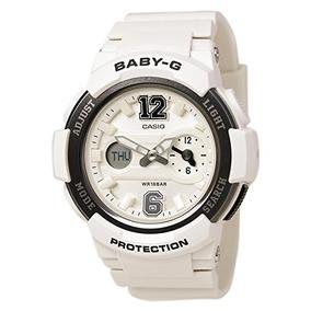 Reloj Para Blanco Mujer Gshock Bga2107b1cr kXTZOPui