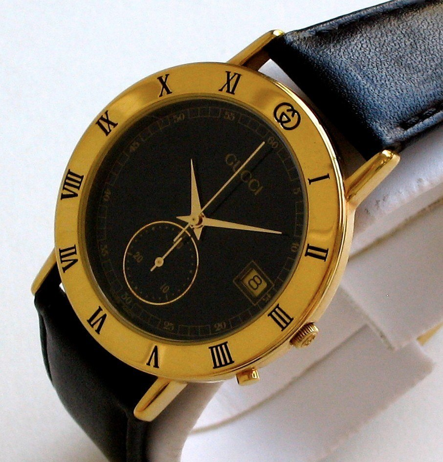 daa736b98c35 Reloj Gucci Cronometro Swiss Vintage Original Impecable -   295.000 ...