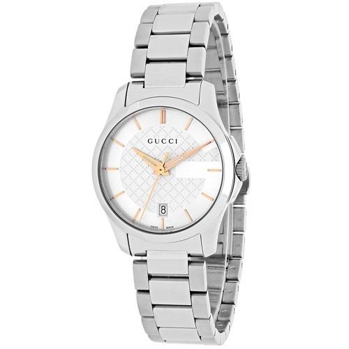 dd1aa4ab215 Reloj Gucci Dama Timeless Ya126523 -   10.500