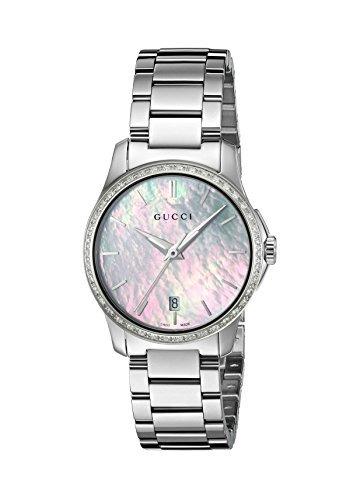 95b62220895 Reloj Gucci Gtimeless De Acero Inoxidable De Cuarzo Plateado -   200.000 en  Mercado Libre