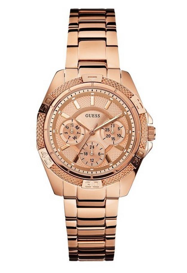 7c197b9fec7e Reloj Guess Acero Dama U0235l3 Original -   439.990 en Mercado Libre