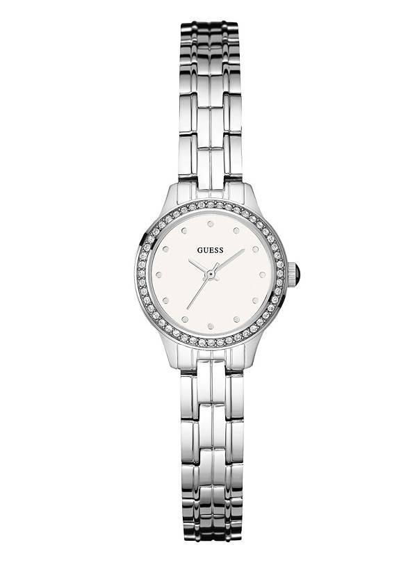 28e4452aeff5 Reloj Guess Acero Dama U0693l1 Original -   349.990 en Mercado Libre