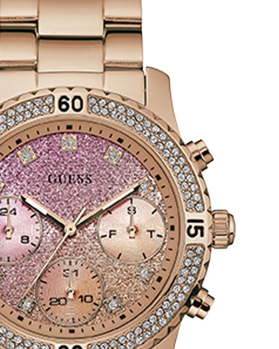 reloj guess confetti oro rosado para dama w0774l3. Cargando zoom. d9032edd067f