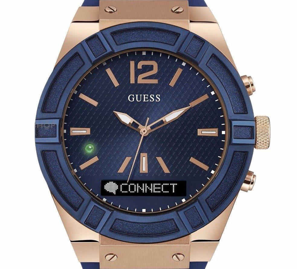 8f0505a96 reloj guess connect azul hombre c0001g1 smartwatch promo. Cargando zoom.