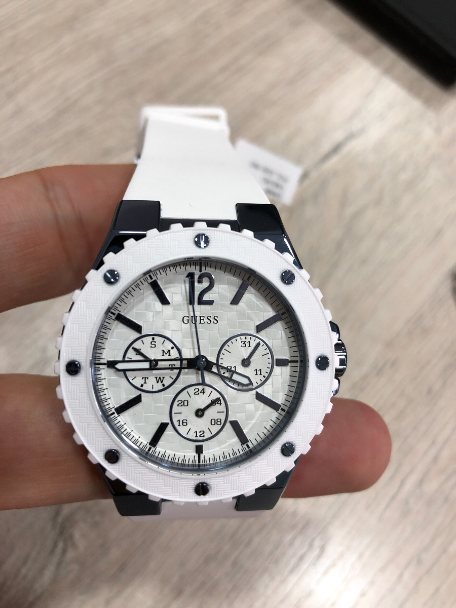 W0149l6 Blanco Nuevo Guess Reloj Dama hrxCBsQdto