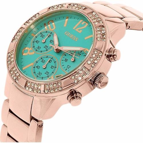 reloj guess dama u0141l6 estilo crono original