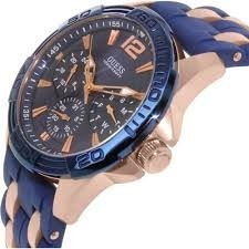 reloj guess de hombre u0366g4 sporty rose gold 100% original