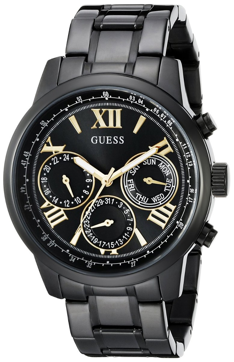 48291091cb13 relojes guess mujer negros