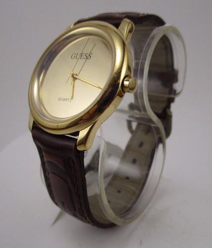 reloj guess gold 1993 mirror face