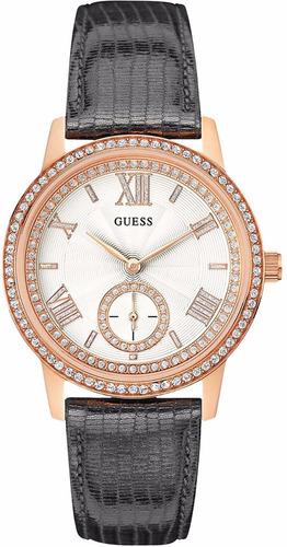 reloj guess gramercy acero tono oro rosado mujer w0642l3