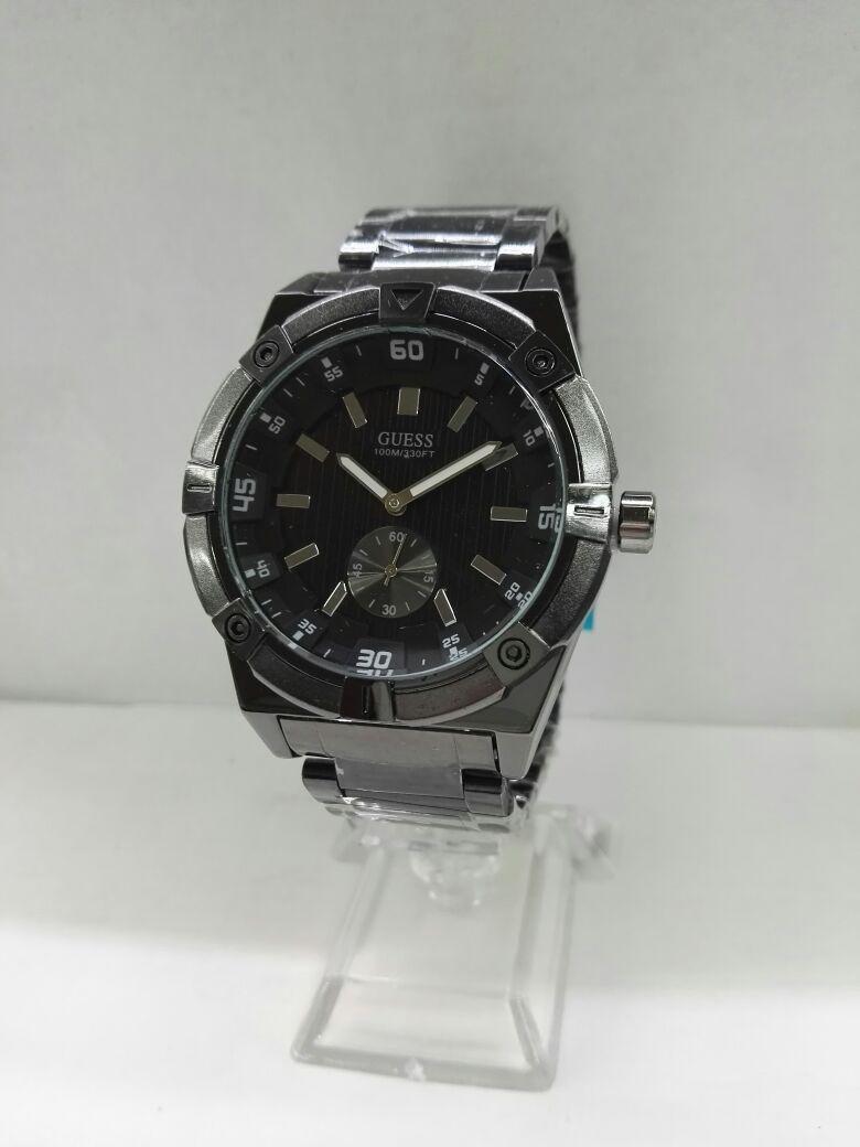 0160390b8853 Reloj Guess Hombre Acero Elegante Calendario -   70.000 en Mercado Libre