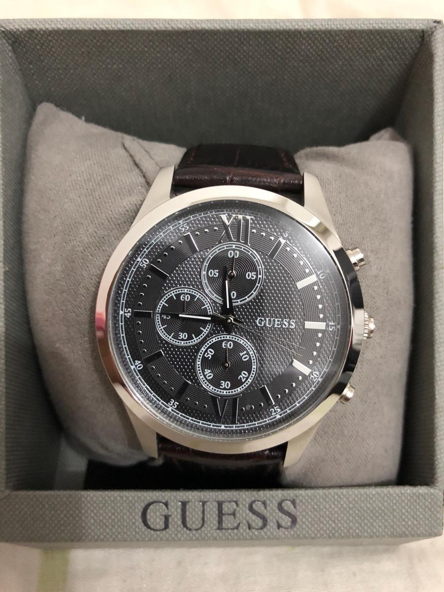De 000 Guess Reloj Manilla Hombre Con Cuero250 CQrxedBoW