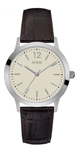 reloj guess hombre cuero w0922g2