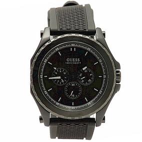4abf48ee31db Reloj Guess Silicona Dorado Negro Relojes - Relojes Pulsera ...
