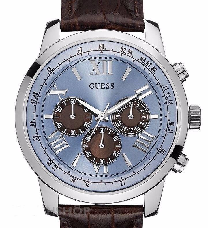 Guess Reloj Hombre Cuero Horizon W0380g6 AgOficialEnvío UpzVqSM