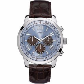 Hombre Cuero Reloj Horizon W0380g6 Guess AgOficialEnvío c3R54AqjLS