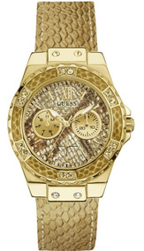 Dama Liverpool Es Dorado W0775l13 Guess Limelight Reloj Para