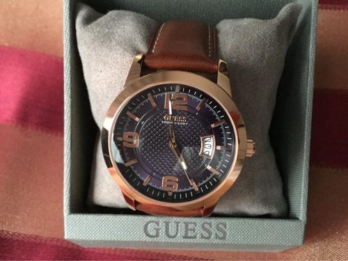 reloj guess modelo u0494g3 tono oro rosa